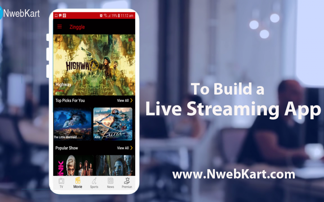 Video Streaming App Development – OTT App Development