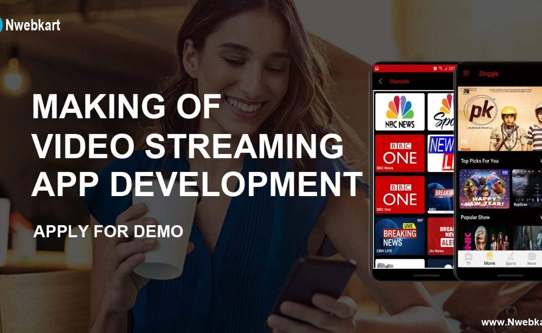 Video Streaming App Development