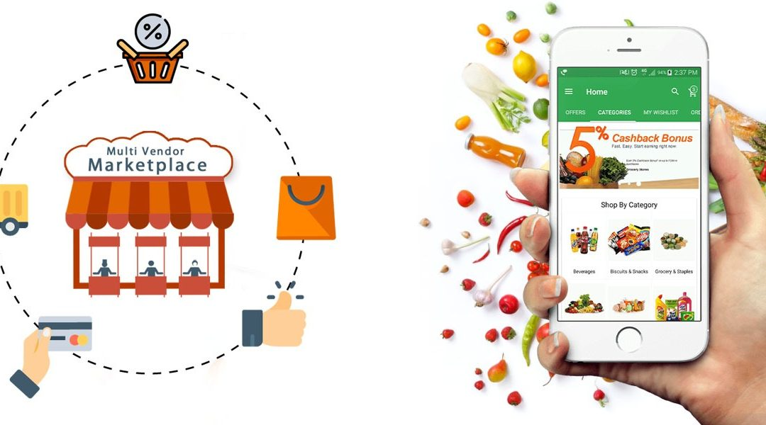 Multi-Vendor Grocery Website development – Multi-vendor Grocery App Development | Marketplace Website Development