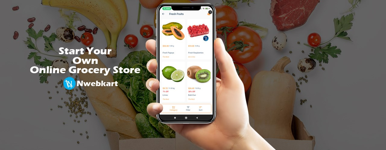 Start Online Grocery Store - Build Online Grocery Store